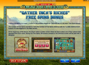 Gold-Of-Machu-Picchu-gather-incas-riches-bonus-game