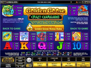 Golden-Goose-Crazy-Chameleons-paytable