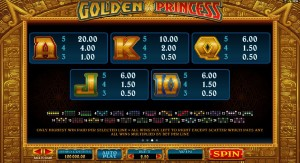 Golden-Princess-paytable