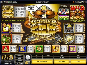 Gopher-Gold-paytable