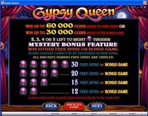 Gypsy-Queen-paytable