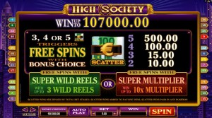 High-Society-free-spins