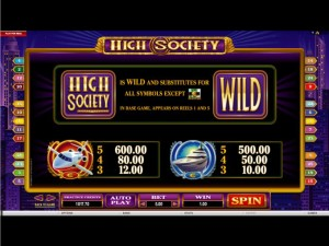 High-Society-rules
