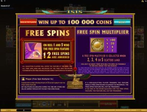 Isis-Multi-Player-free-spins