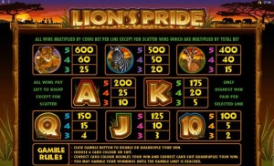 Lion's-Pride-paytable-2