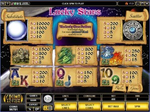 Lucky-Stars-paytable