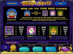 Magic-Spell-paytable2