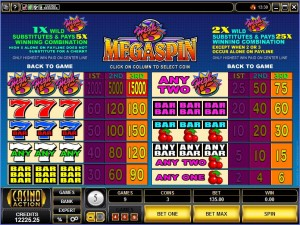 MegaSpin-High-5-paytable