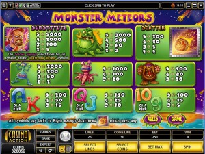 Monster-Meteors-paytable