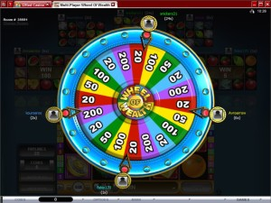 Multi-Player-Wheel-of-Wealth-bonus-game
