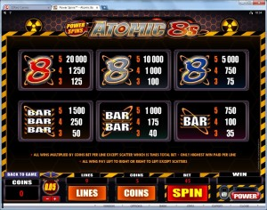 Power-Spins-Atomic-8s-paytable