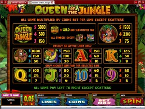 Queen-of-the-Jungle-paytable