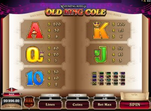 Rhyming-Reels-Old-King-Cole-paytable-2