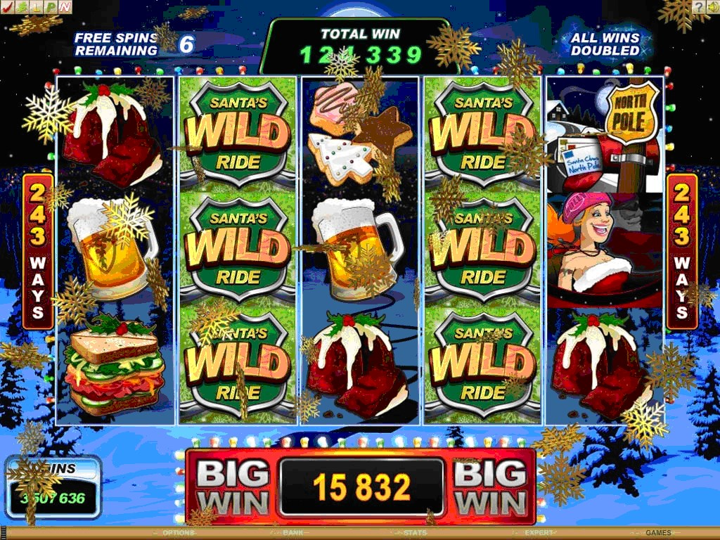 Santas Wild Ride | Euro Palace Casino Blog
