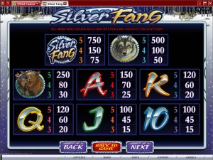 Silver-Fang-paytable