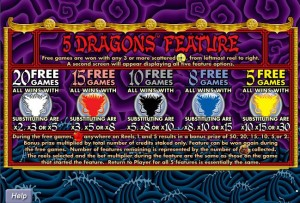 5-Dragons-free-spins