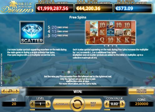 casino slots for free online mega fortune