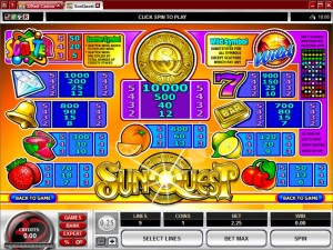 Sun-Quest-paytable