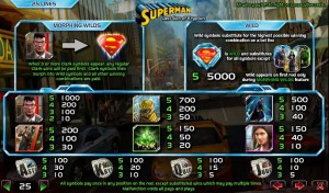 Superman-Last-Son-of-Krypton-paytable