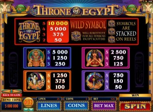 Throne-of-Egypt-paytable