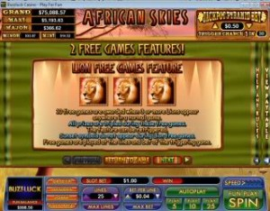African-Skies-lion-free-spins