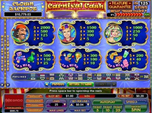 Carnival-Cash-paytable