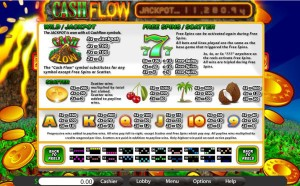 Cash-Flow-5-Reels-paytable