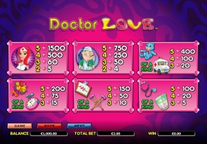 Doctore-Love-paytable