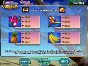 Fortunes-of-the-Caribbean-paytable
