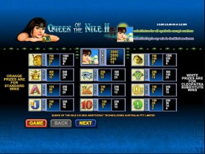 Queen-of-the-Nile-2-paytable
