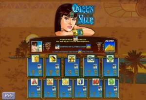 Queen-of-the-Nile-paytable