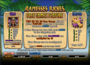 Ramesses-Riches-free-games