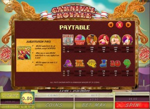Carnivale-Royale-paytable