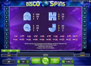 Disco-Spins-paytable2