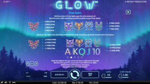 Glow-free-spins