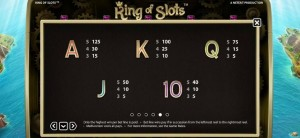 King-of-Slots-paytable