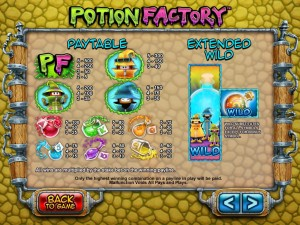 Potion-Factory-paytable