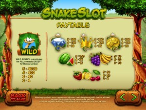 Snake-Slot-paytable