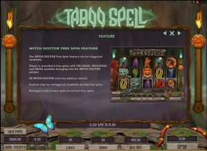 Taboo-Spell-feature
