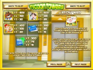 Tycoon-Towers-paytable