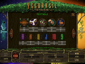 Yggdrasil-The-Tree-of-Life-paytable