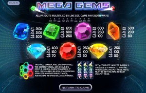 Mega-Gems-paytable