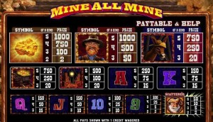 Mine-All-Mine-paytable