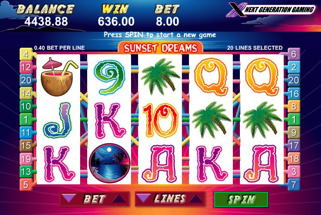 Sunset Slots Casino Review