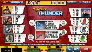 Thor's-Thunder-paytable